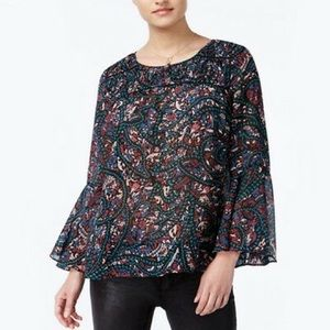 NWT Jessica Simpson | xs | floral Wilma blouse